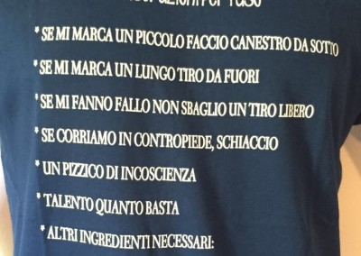 "T-Shirt ""Come si salva la Fortitudo"""