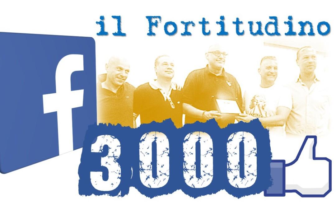 La pagina Facebook del Fortitudino supera i 3000 followers e grande successo anche del sito Web