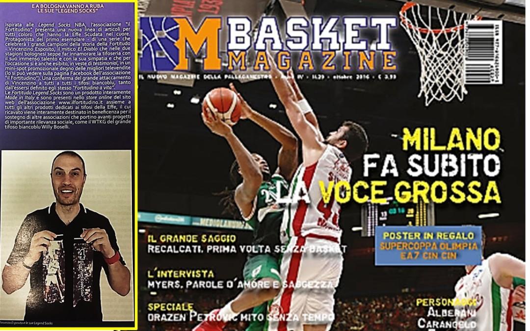 "Su Basket Magazine le ""Legend Socks"" di Vincenzino"