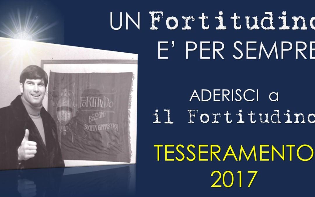 """Aderisci a """"il Fortitudino"""". Tesseramento 2017."""