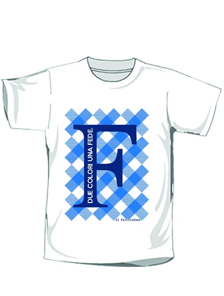 """T-Shirt  """"F … Due colori Una fede"""""""