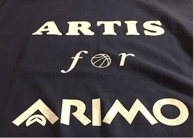 "T-shirt  ""Artis for Arimo"""
