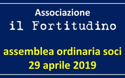 Assemblea ordinaria dei soci – Lunedì 29 aprile