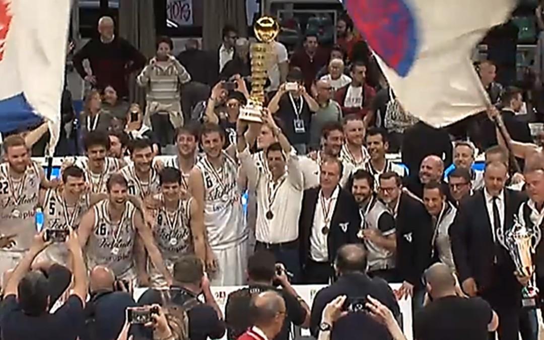 La Fortitudo vince anche la finale di LNP (103-100) al termine di una stagione meravigliosa