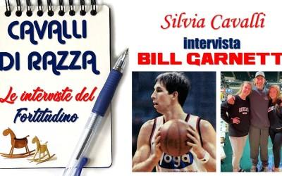 Cavalli di Razza: Bill Garnett intervistato da Silvia Cavalli per il Fortitudino