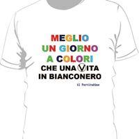 """T-shirt 50°: """"Meglio un giorno a colori…."""""""