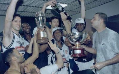 Coppa Italia 1998- Dan O'Sullivan, Ferrarini, Galanda, Rivers, Fucka, Wilkins, Moretti