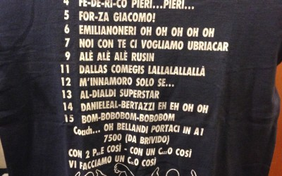 T-schirt di proprieta Bellandi