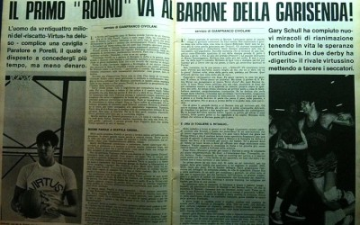 campionato 69-70 il Barone distrugge Driscoll