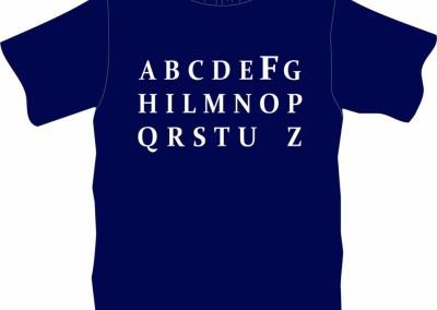 "T-Shirt ""alFabeto"""