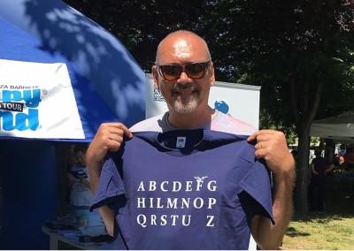 "T-shirt ""L'Alfabeto del Fortitudino"""