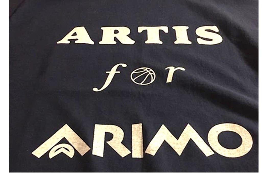 """T-shirt  """"Artis for Arimo"""""""