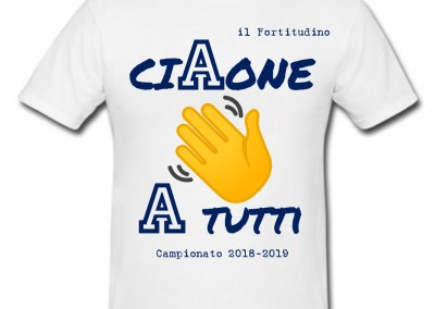 "T-Shirt celebrativa ""CiAone"""